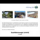 Qualitätsmanager (m/w/d)