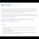 ExpertIn Intensivpflege/Dipl. Pflegefachperson mit IMC-Kurs Aufwachraum Triemli, 80-100 %