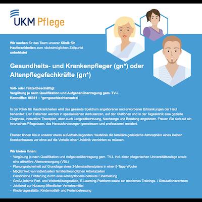 Gesundheits- und Krankenpfleger (gn) oder Altenpflegefachkräfte (gn)