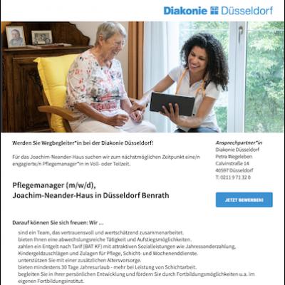 Pflegemanager (m/w/d), Joachim-Neander-Haus in Düsseldorf Benrath