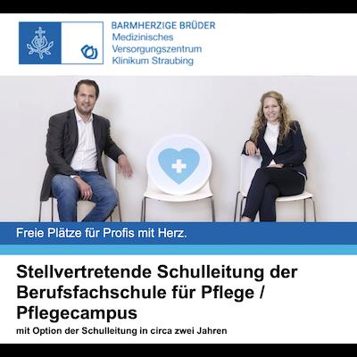 Stellvertretende Schulleitung der Berufsfachschule für Pflege/Pflegecampus mit Option der Schulleitung in ca. zwei Jahren
