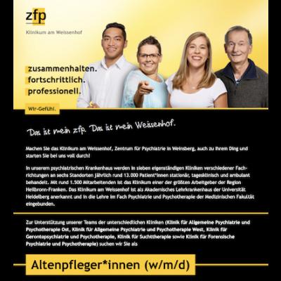 Altenpfleger*innen (w/m/d) Treffer-Logo