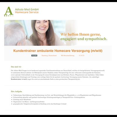 Kundentrainer ambulante Homecare Versorgung (m/w/d)