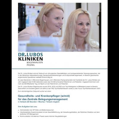 Gesundheits- und Krankenpfleger (w/m/d) für das Zentrale Belegungsmanagement